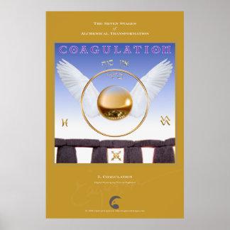 Alchemical Transformations 7: Coagulation Poster