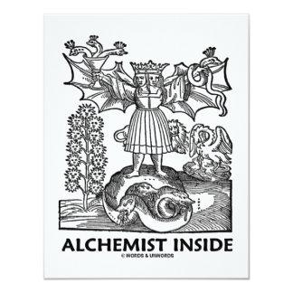 Alchemist Inside (Medieval Alchemy) Card