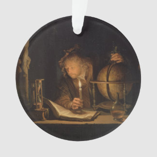 Alchemist Philosopher Reading Ornament