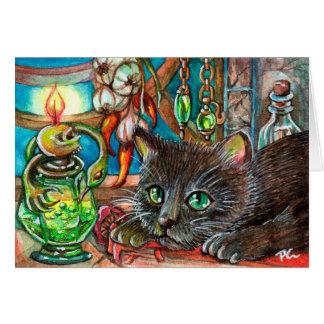 Alchemist's Cat Card