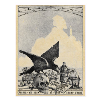 Alchemy at Egyptian Pyramids Postcard