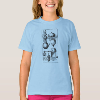 Alchemy Lab Beakers and Tools T-Shirt