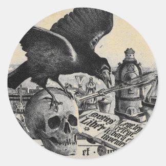Alchemy Laboratory Round Sticker