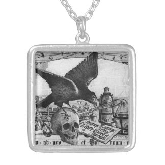 Alchemy Laboratory Silver Plated Necklace