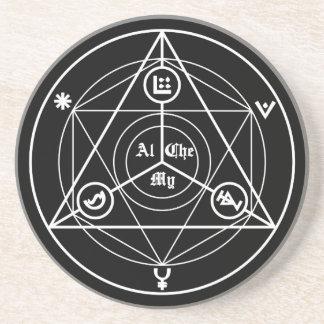 Alchemy manifesto coaster
