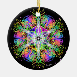 Alchemy of Joy/Wings of Expectation Ceramic Ornament