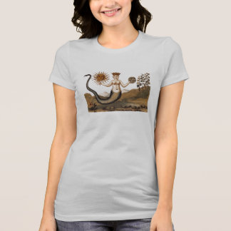 Alchemy Snake Woman with Three Faces T-Shirt
