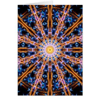 Alchemy Star mandala Card