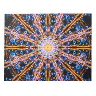Alchemy Star Mandala Notepad