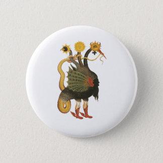 Alchemy Symbol 6 Cm Round Badge