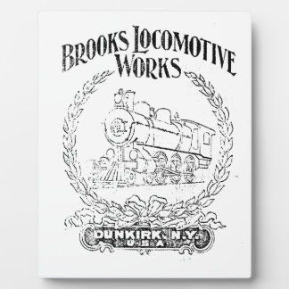 Alco - Brooks Locomotive Works Logo 1899 Plaque