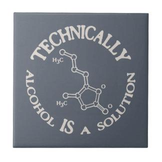 Alcohol, A Solution Tile