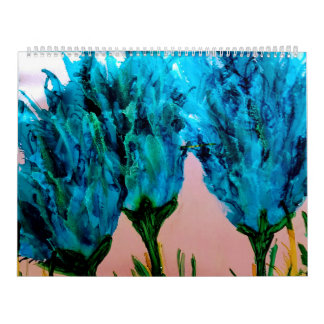 alcohol ink calendar