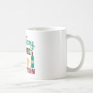 Alcohol is a Solution Basic White Mug