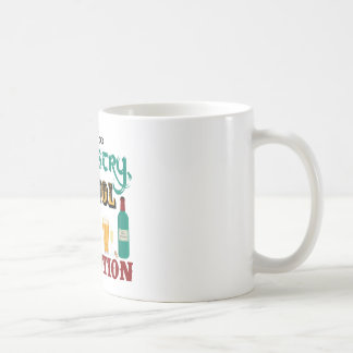 Alcohol is a Solution Mug