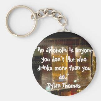 alcohol key ring