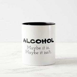 Alcohol, Maybe Two-Tone Coffee Mug