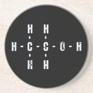 Alcohol Molecule Coasters