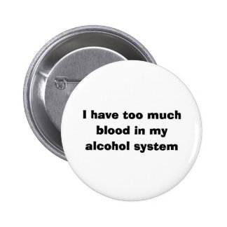 Alcohol System 6 Cm Round Badge