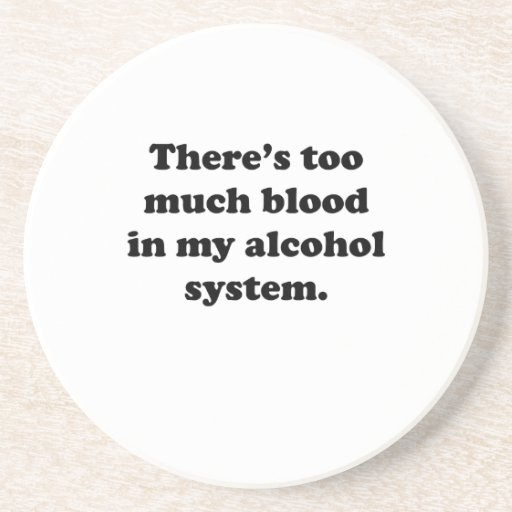 Alcohol System Beverage Coasters