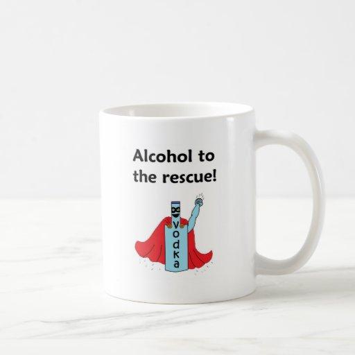 Alcohol to the Rescue Mug