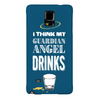 Alcoholic Guardian Angel Galaxy Note 4 Case