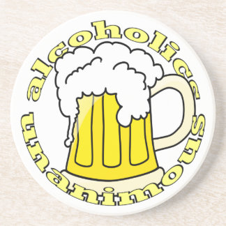 Alcoholics Unanimous Coasters