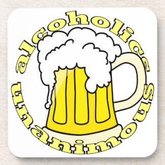 Alcoholics Unanimous Drink Coaster