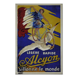Alcyon Cycles - Quality Reproduction - Unrestored Poster
