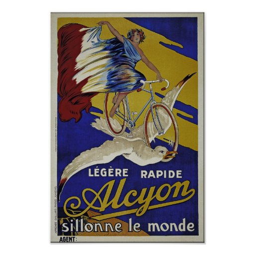 Alcyon Cycles - Quality Reproduction - Unrestored Posters