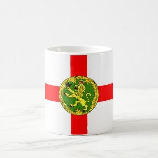 Alderney flag Guernsey symbol british Coffee Mug