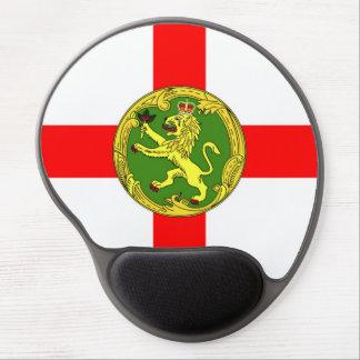 Alderney flag Guernsey symbol british Gel Mouse Pad