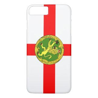Alderney flag Guernsey symbol british iPhone 8 Plus/7 Plus Case