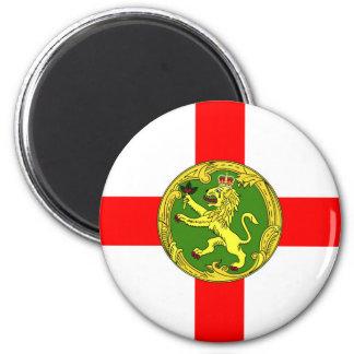 Alderney flag Guernsey symbol british Magnet