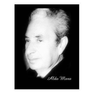 Aldo Moro Postcard