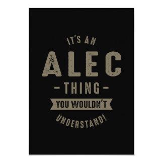 Alec Thing Card