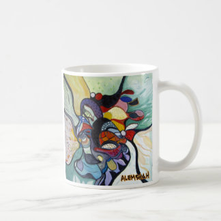 Alemshah Abstract Mug - Underwater