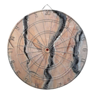 Aleppo pine dartboard