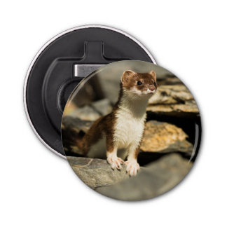 Alert Weasel Bottle Opener