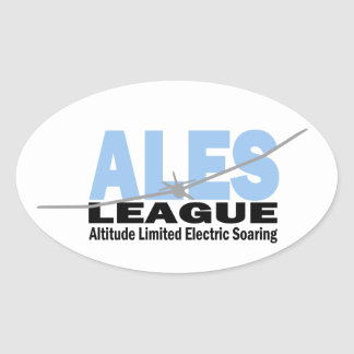 ALES League Oval Stickers