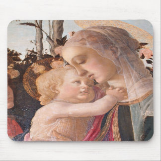 Alessandro Botticelli s The Virgin and Child Mouse Pad