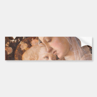 Alessandro Botticelli's The Virgin and Child Car Bumper Sticker