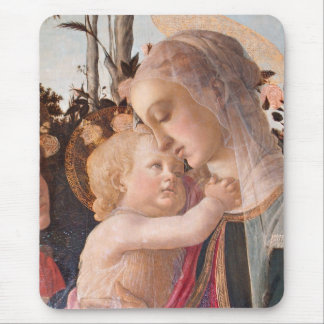 Alessandro Botticelli's The Virgin and Child Mouse Pad