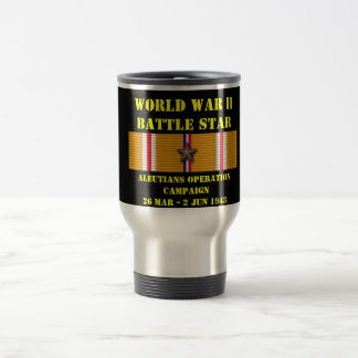Aleutians Operation Campaign Stainless Steel Travel Mug