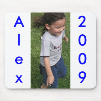 Alex, 2009, mouse pad
