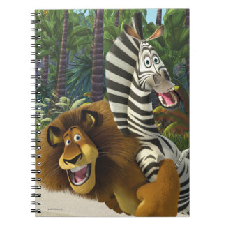 Alex and Marty Playful Note Book