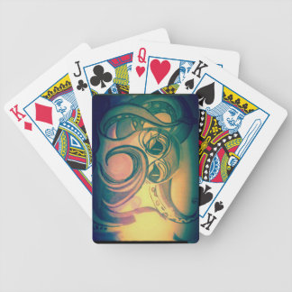 Alex Cloutier's Octopus playing cards and magic tr