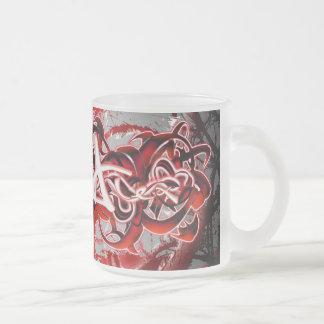 Alex Frosted Glass Coffee Mug
