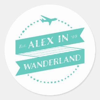 Alex in Wanderland Stickers