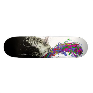 "Alex Pardee ""Escaped Convict(ion)"" 21.3 Cm Mini Skateboard Deck"
